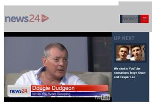 Dougie on News24 Live